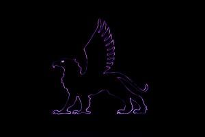 Greif Nacht violett